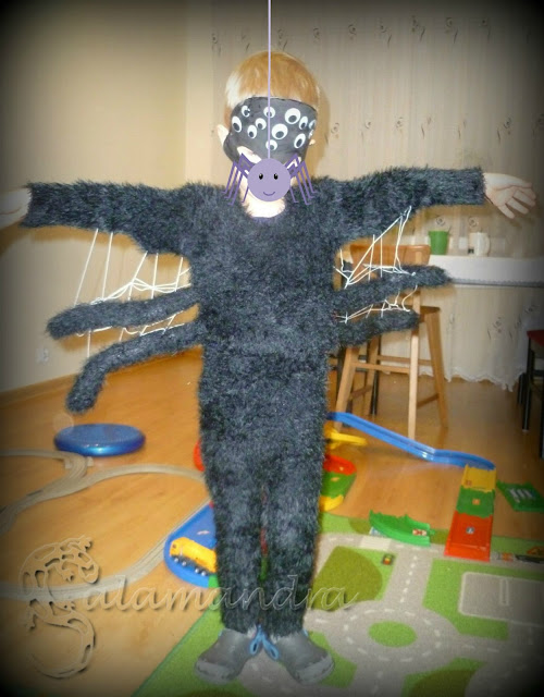 strój pająka dla dziecka