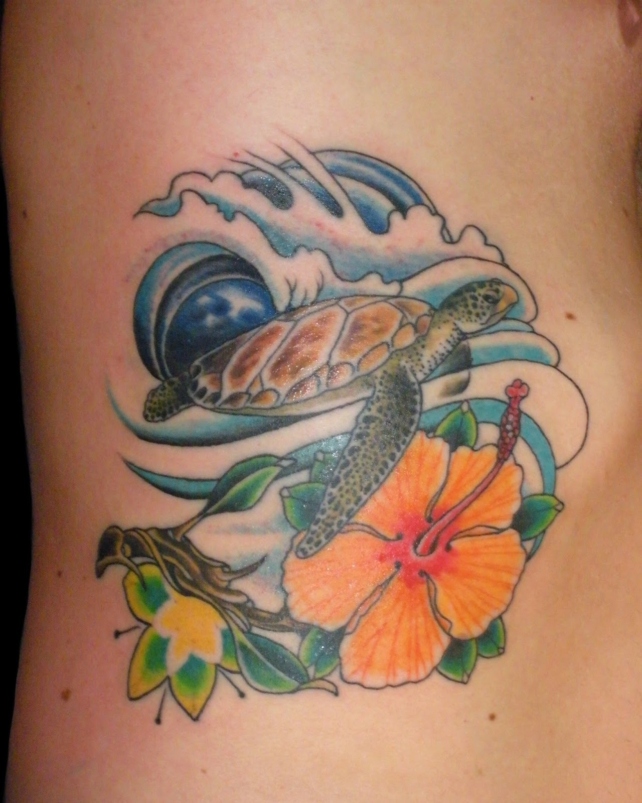 Sweet trade tattoo maui hawaiian flower tattoos izmirmasajfo