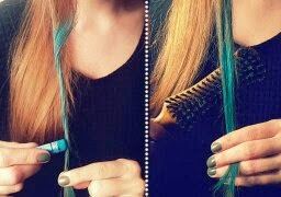 gambar warna rambut