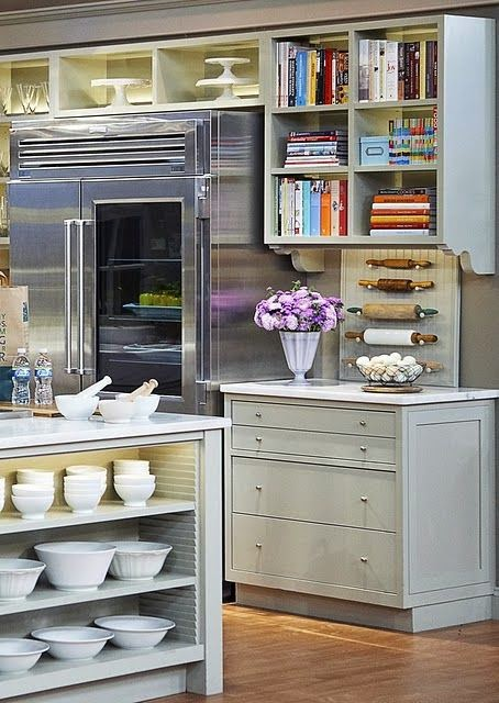 beautiful traditional style decor white kitchen gorgeous fridge