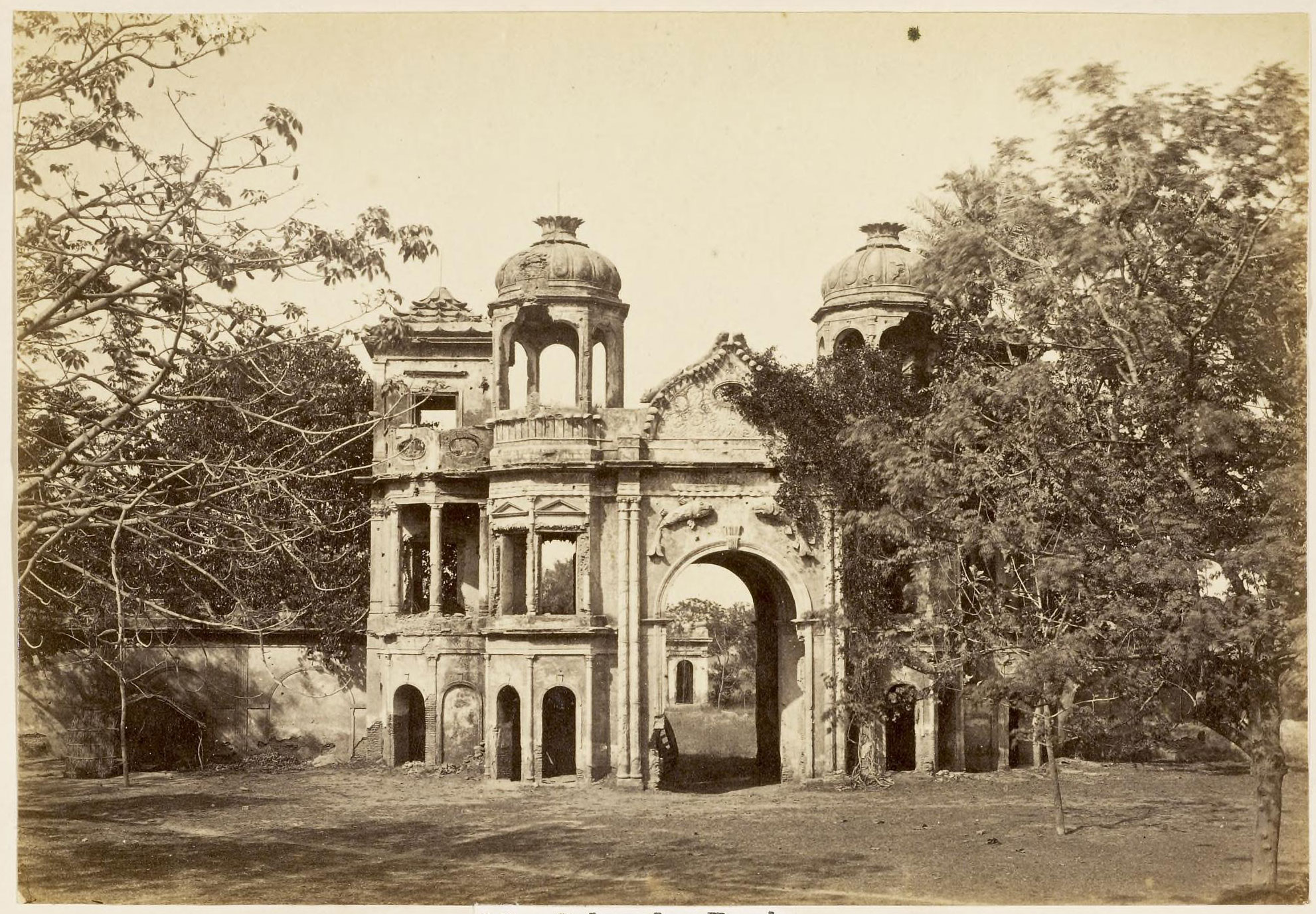 Sekunder Bagh Lucknow 1870 39 S Old Indian Photos