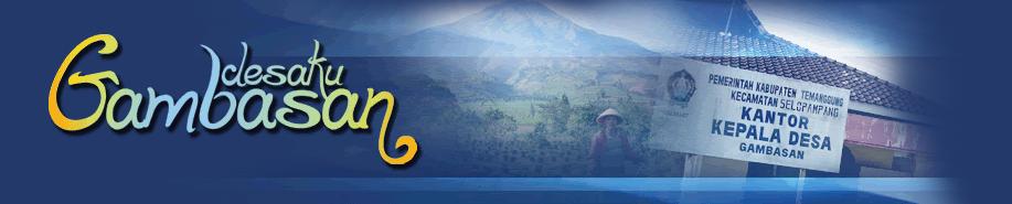 Desa Gambasan Website