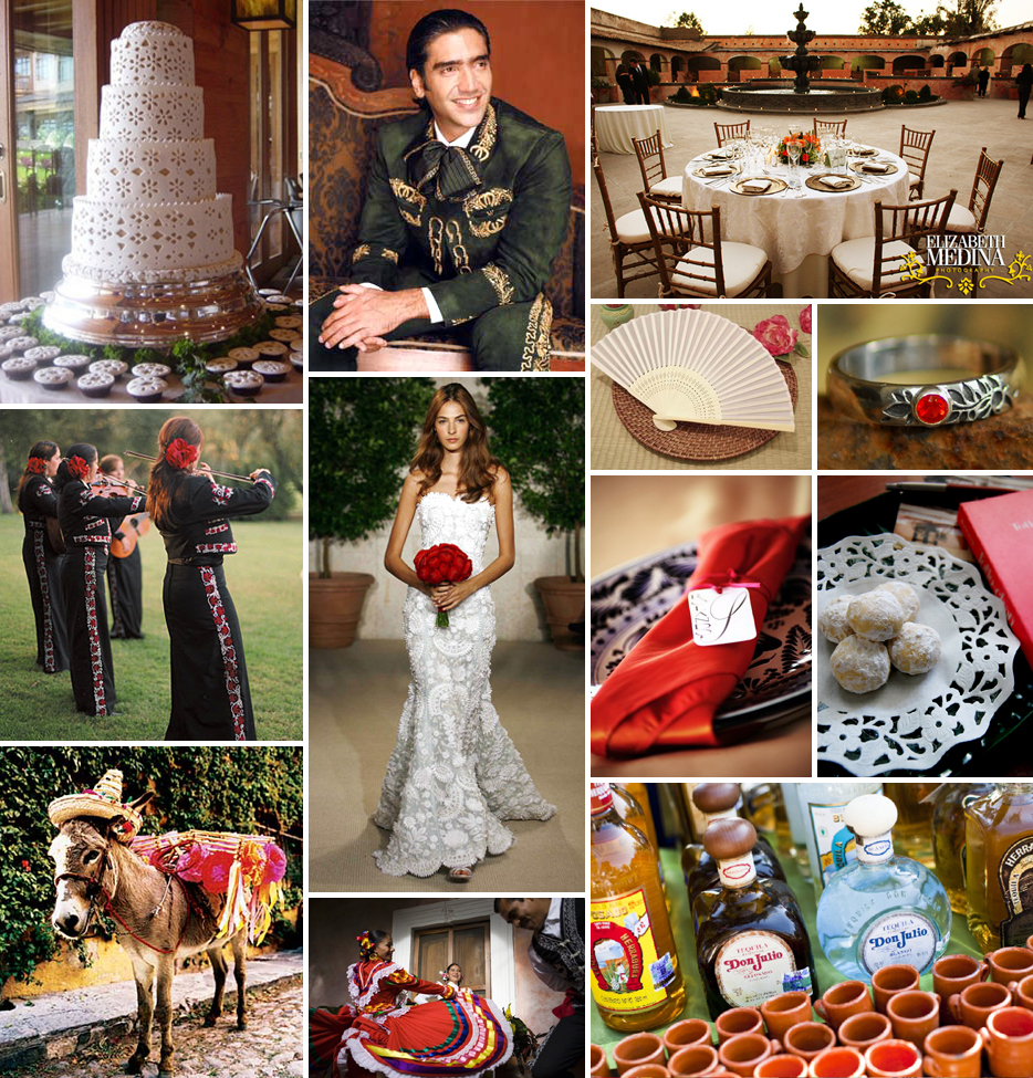 your wedding support get the look spanish themed wedding