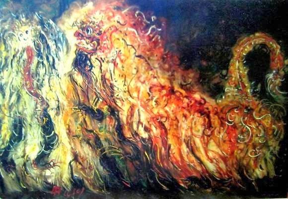 Karya Lukisan Affandi Barong