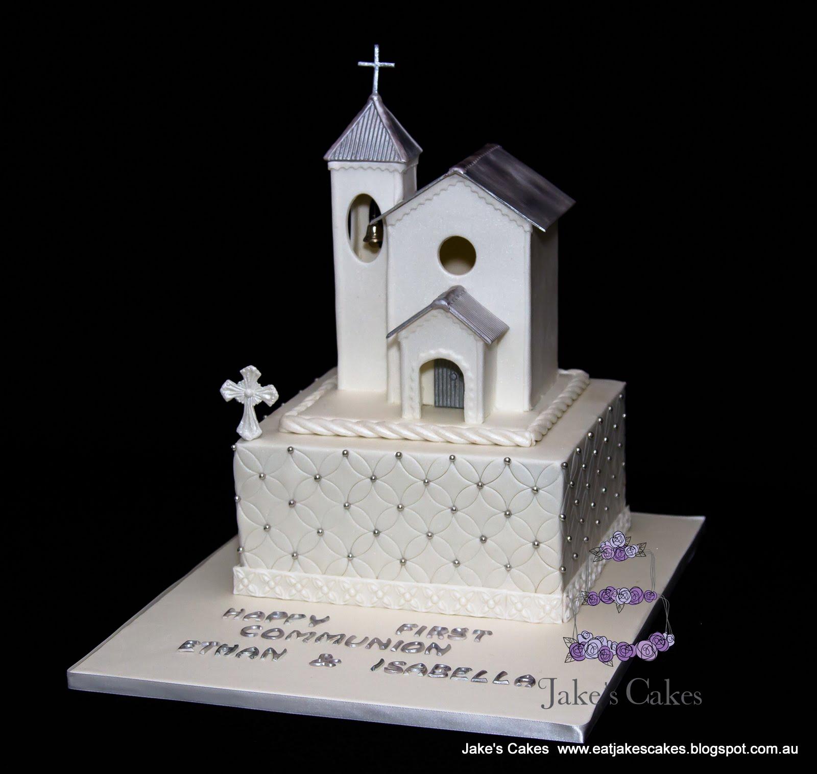 Jakes Cakes Holy Communion Cake