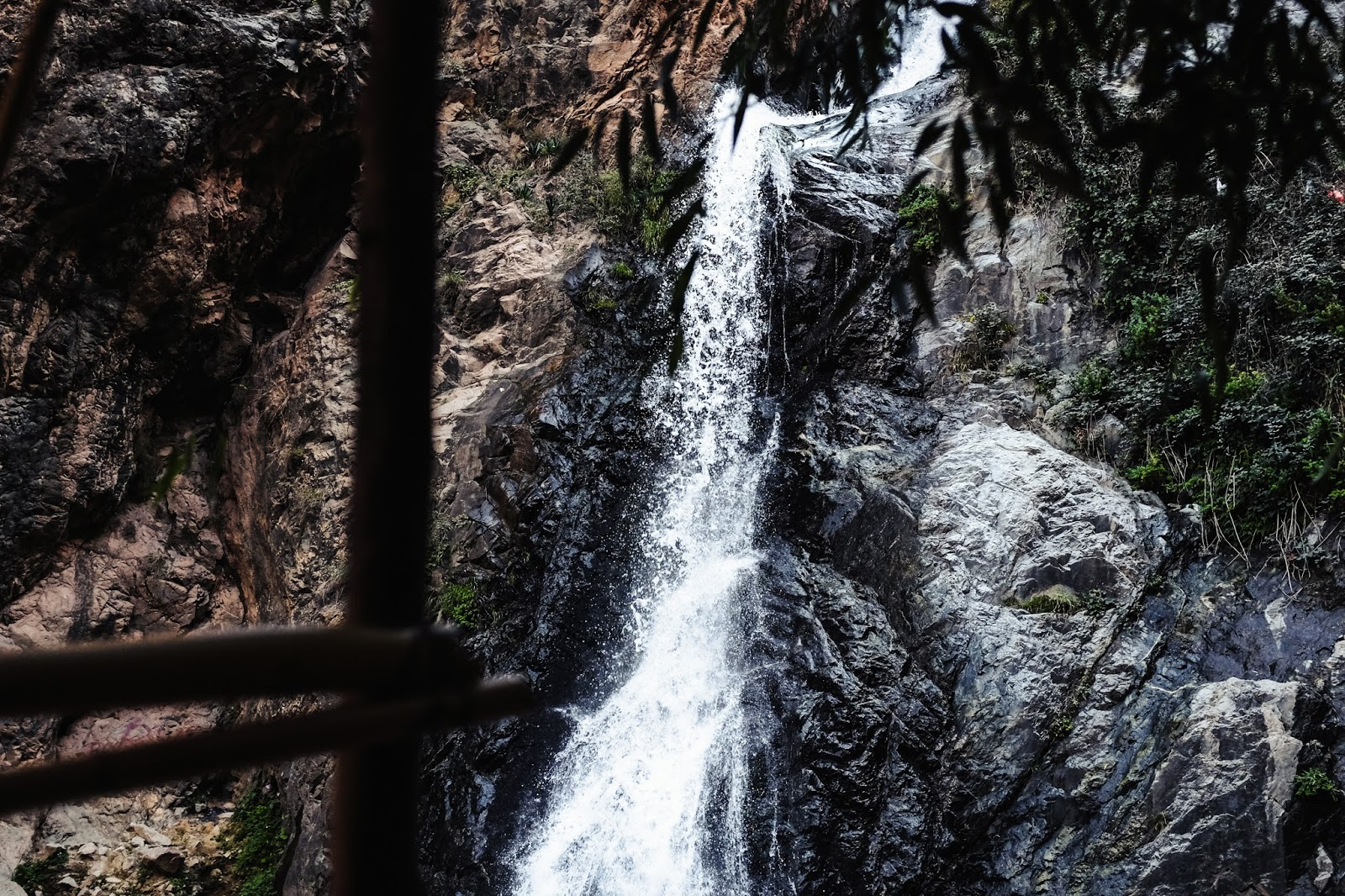 Waterfall on Atlas Mountains Marrakech Morocco