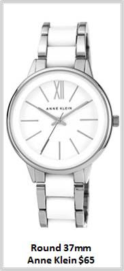 Sydney Fashion Hunter - Timeless Timepieces - Anne Klein Round 37mm Watch