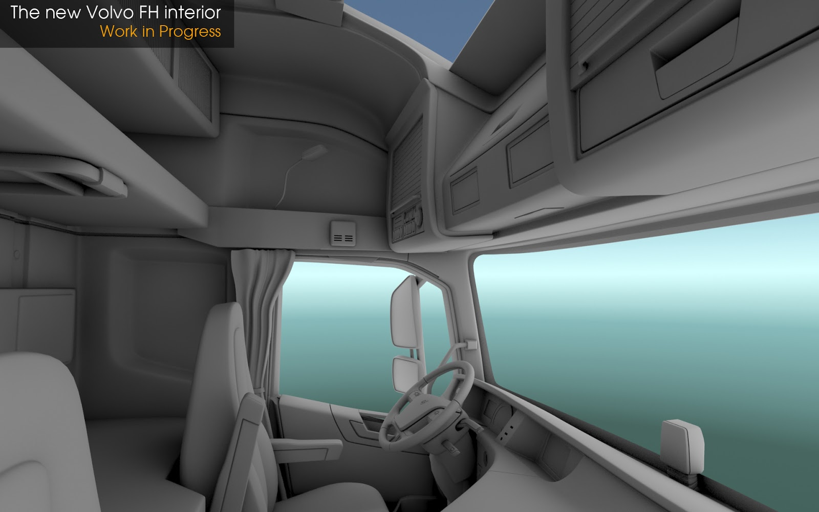 Scs software 39 s blog the new volvo fh series news for New interior