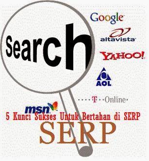 5 Kunci Sukses Untuk Bertahan di SERP