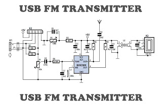 USB to fm transmitter schematics