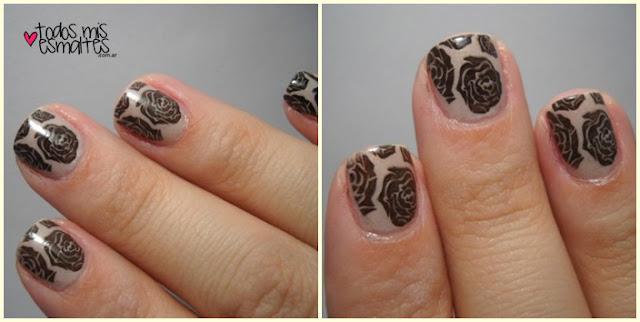 stamping nail art-bm323