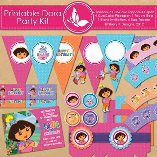 dora the Explorer birthday party themed