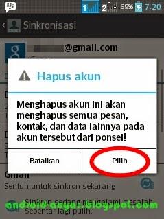 Cara Ganti Akun Google Android - ganti email Play Store