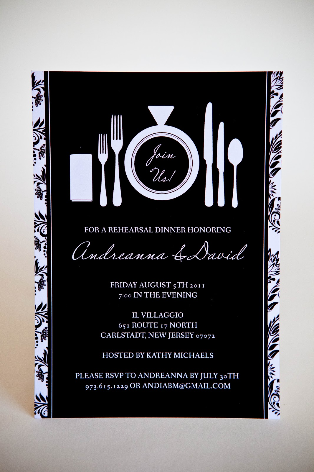 kindly r s v p designs blog rehearsal dinner invitations