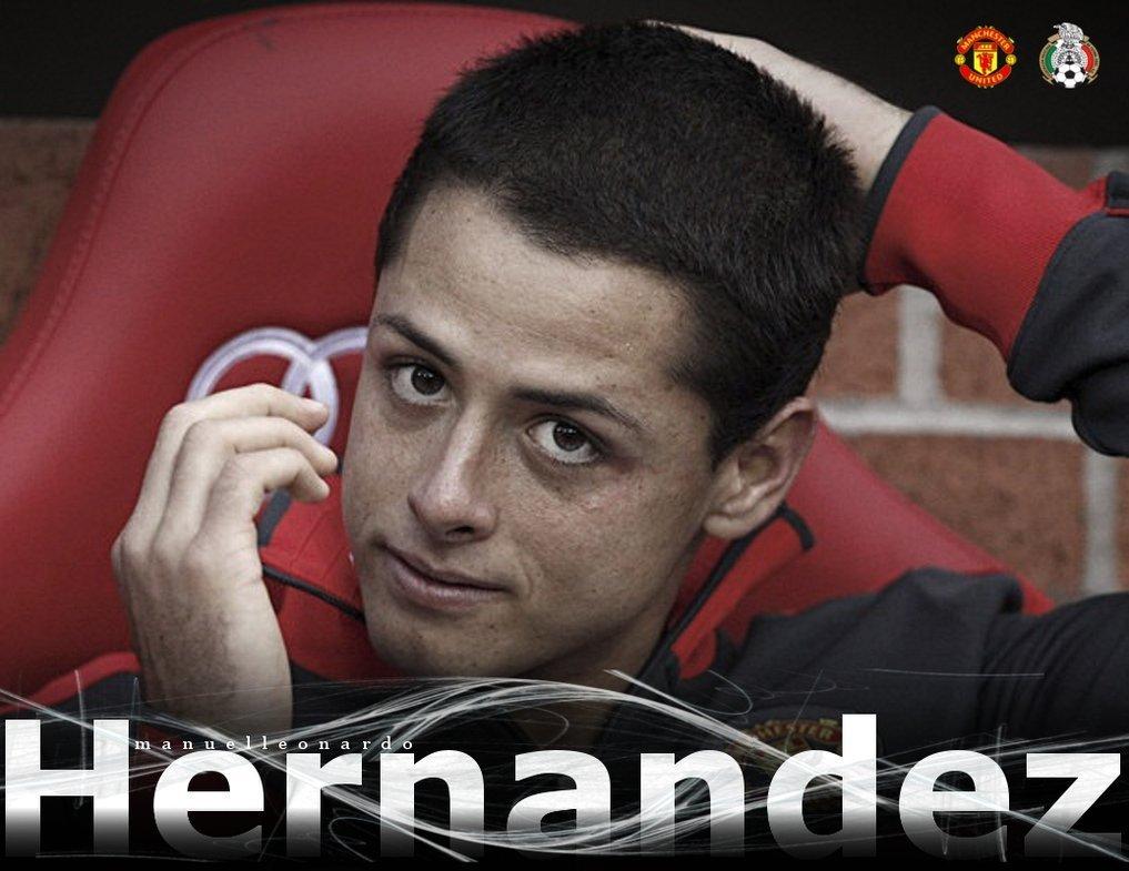 Football Wallpaper: Chicharito Hernandez