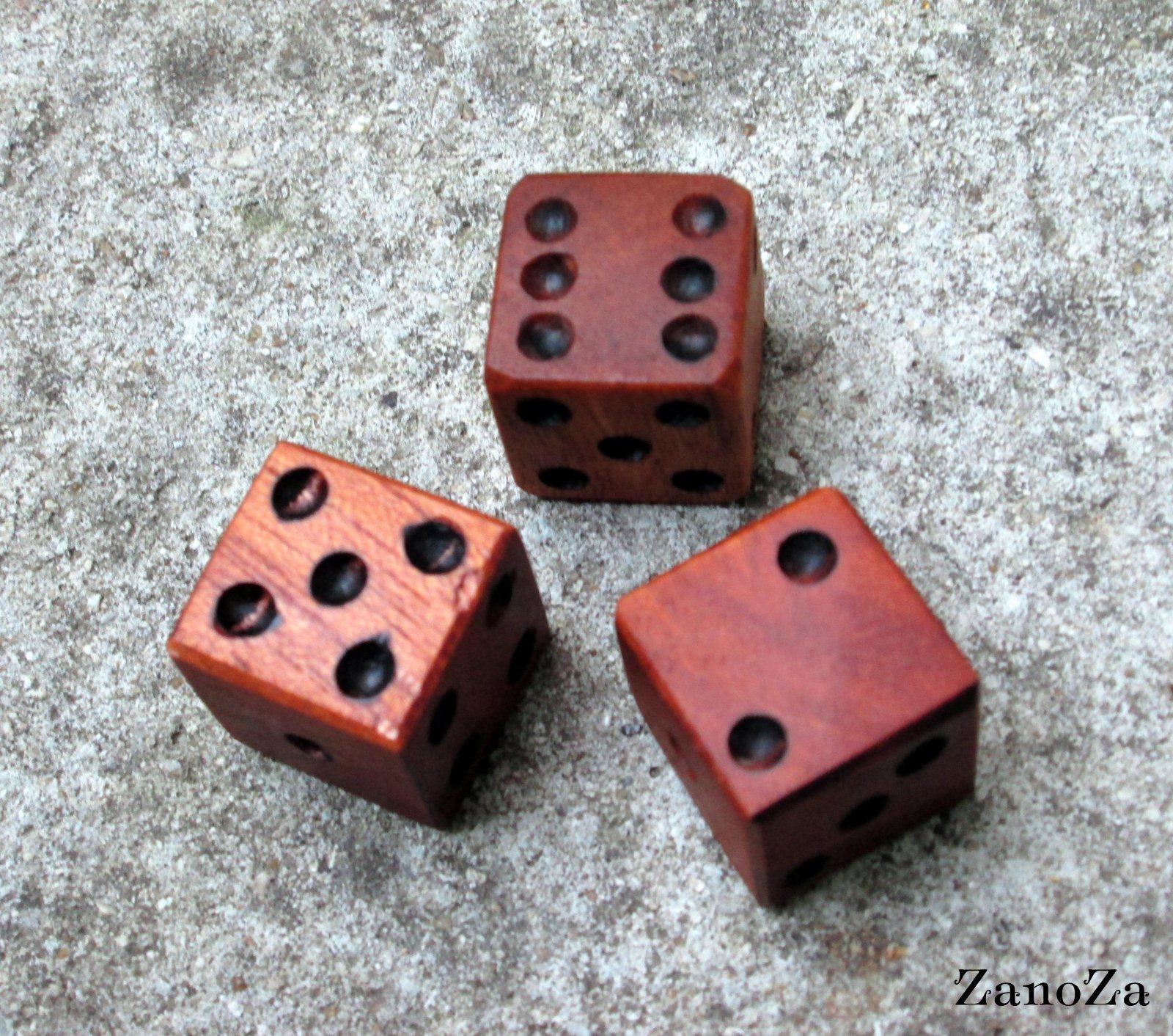 Игральные кубики своими руками