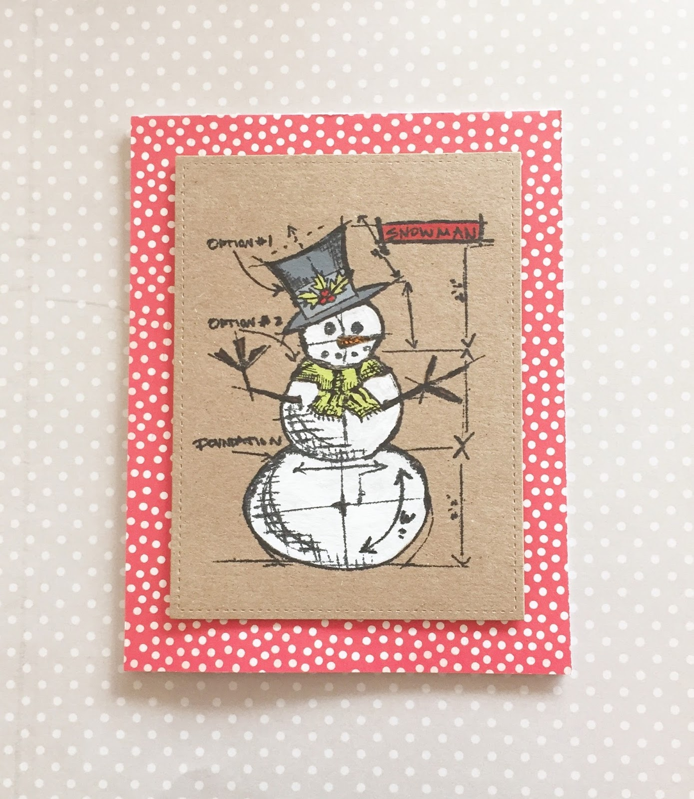 tim holtz christmas blueprint