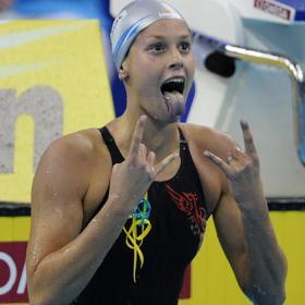 NATACIÓN-Pellegrini oro en 200 libres, los 50 espalda para Zueva  y Jiao arrasa en los 200 mariposa