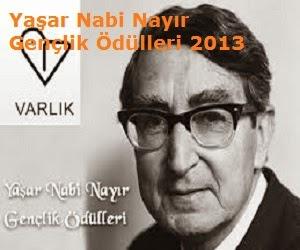 Yaşar Nabi Nayır Gençlik Ödülleri 2013