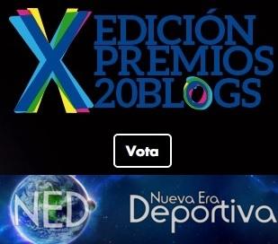 ¡Vota a NED en Premios 20Blogs!