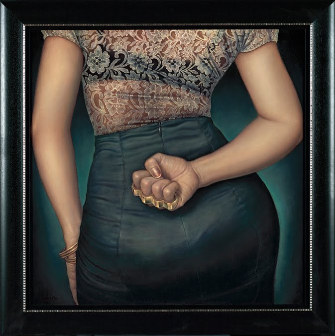 nuncalosabre. Pintura | Painting - ©Danny Galieote