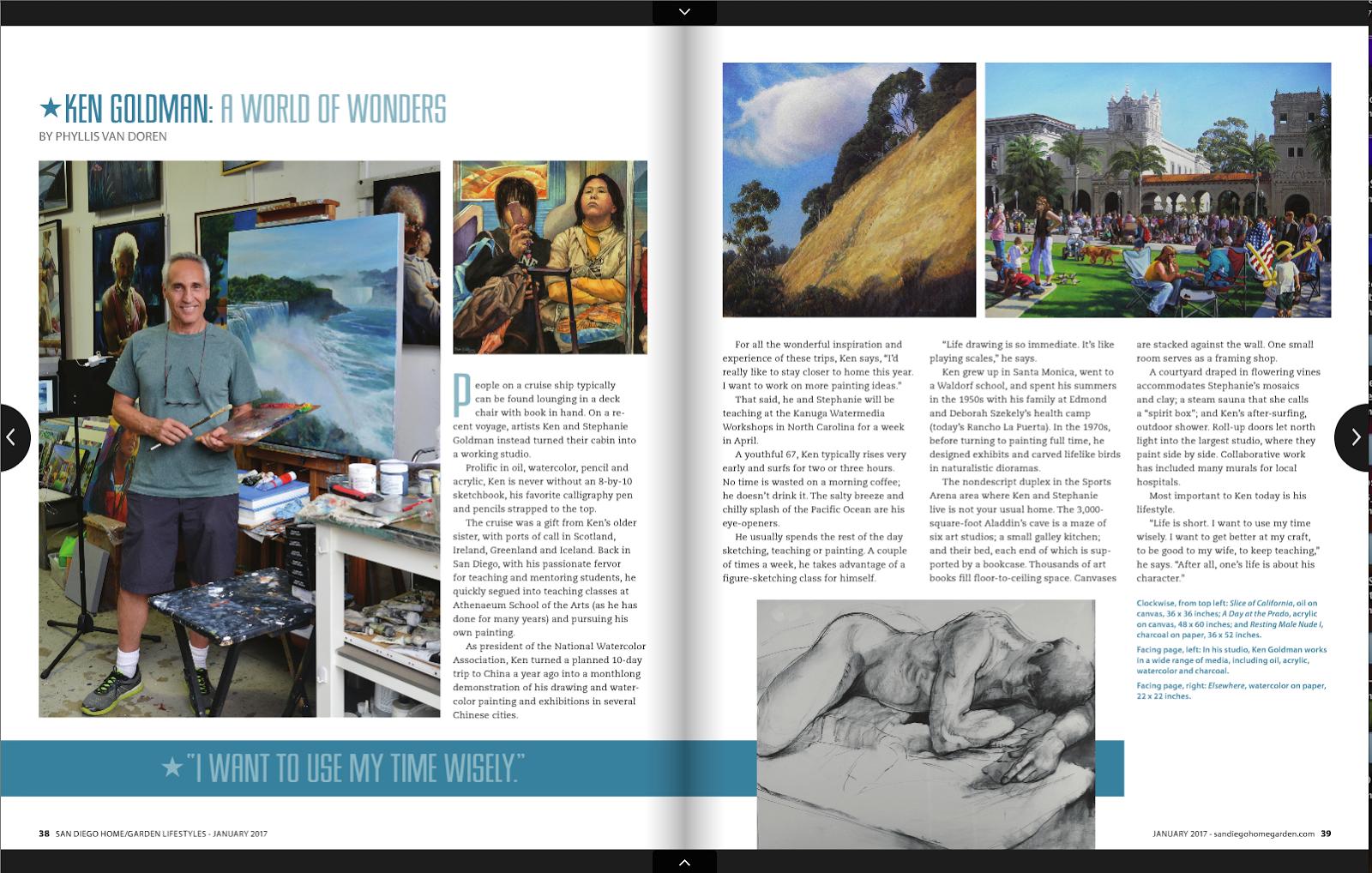 Ken Goldman Nws Aws Thank You San Diego Home Garden Magazine