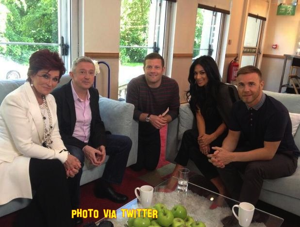 First Photo Of X Factor Judges 2013 Posted Online!