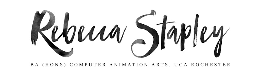 Becky Stapley- BA (Hons) Computer Animation Arts, UCA Rochester