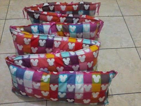 Baby Bumper handmade pojokhandmade, baby stuff handmade pojokhandmade
