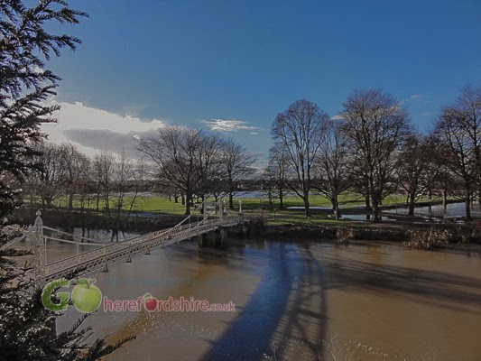Flooding at The Bishops Meadow Hereford