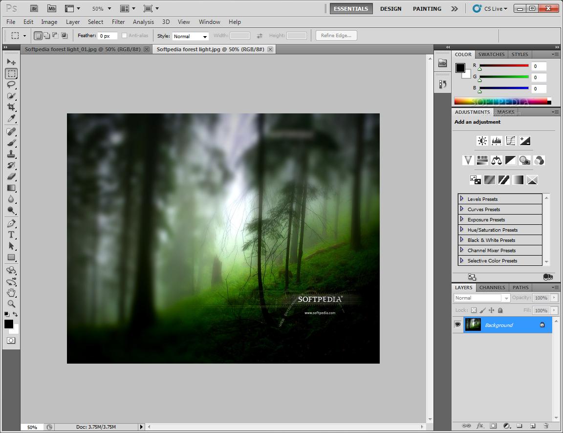 Adobe photoshop cs4 portable only 86mb jarule h33t