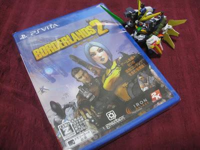 PS Vita ボーダーランズ2 パッケージ
