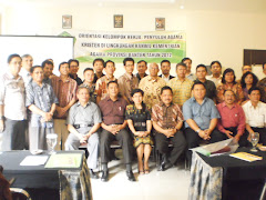 Orientasi Kelompok Kerja Penyuluh Agama Kristen 2012