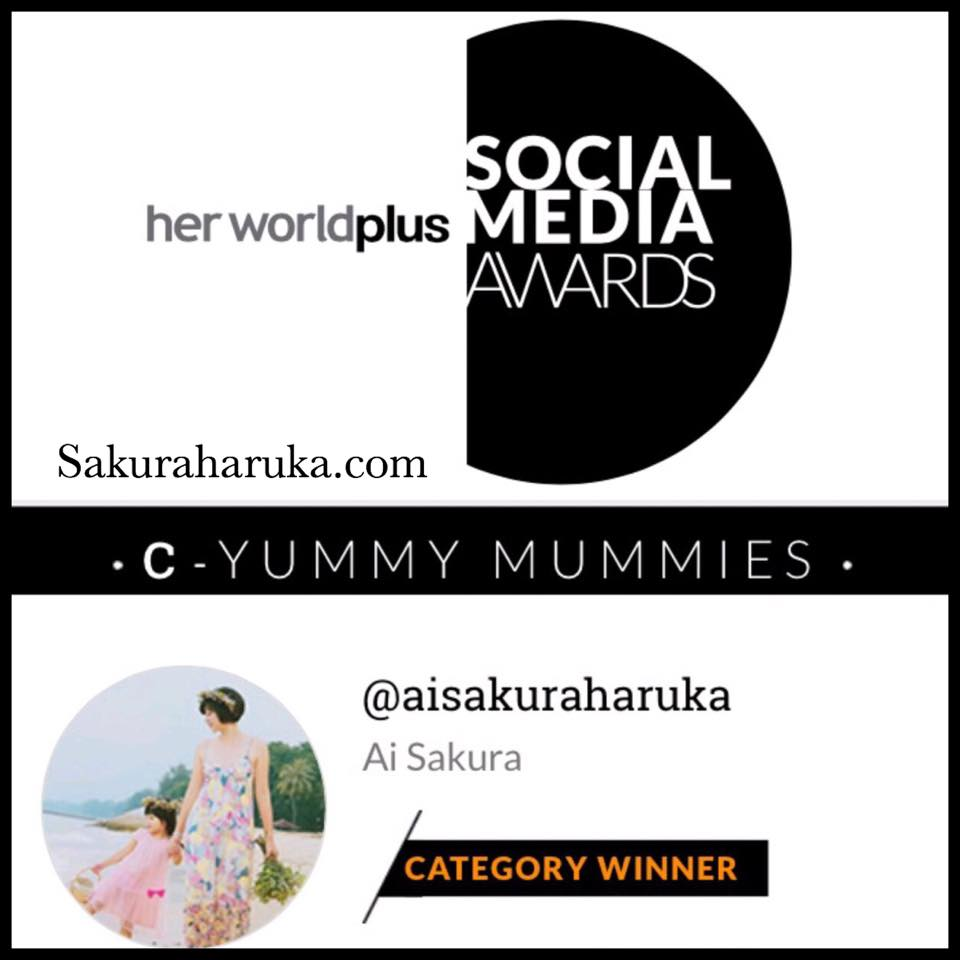 Her World Plus Social Media Awards 2015 Winner