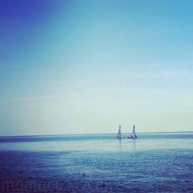 L sailing with Mark Warner Kidz Club