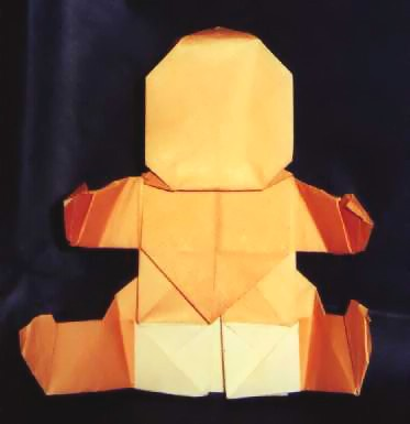 origami 3d triangle instructions