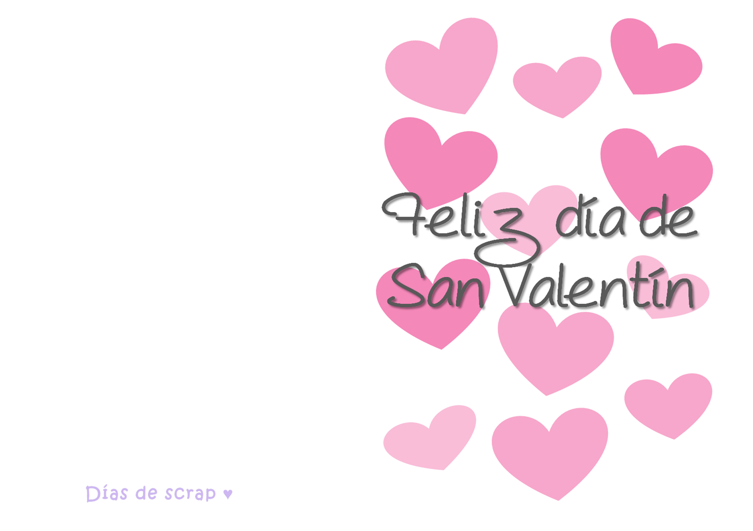 freebie postal de san valentin