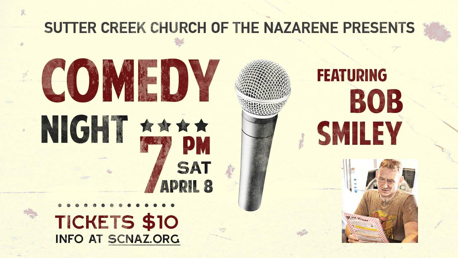 Comedy Night at SC Nazarene - Sat Apr 8