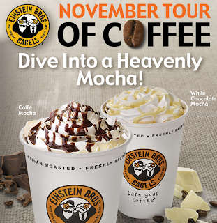 50% off a Caffé Mocha or Latte at Einstein Bros Bagels – Printable Coupon