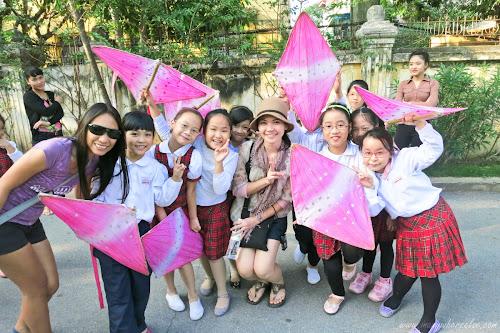 School Kids in Hanoi, Vietnam