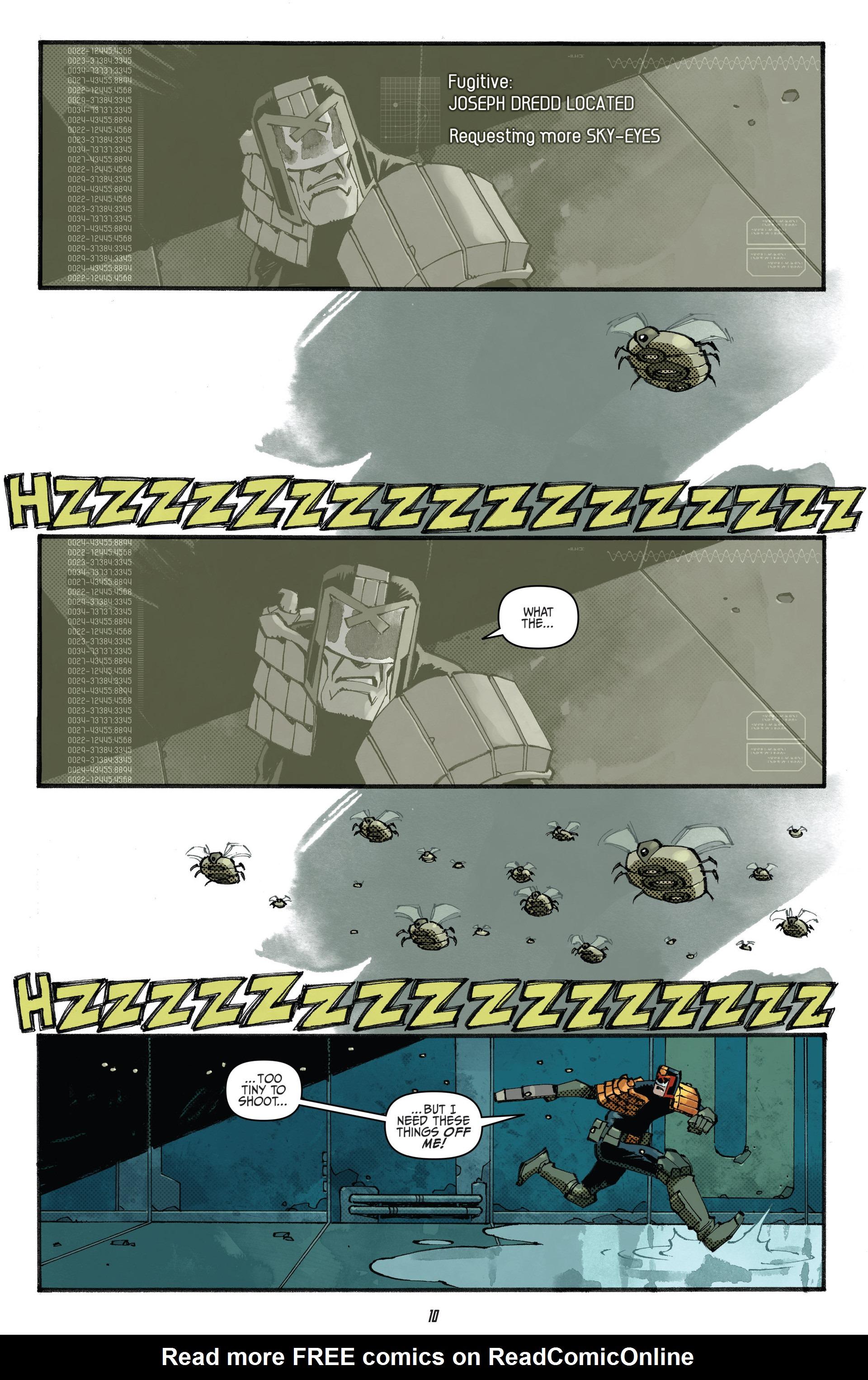 Read online Judge Dredd (2012) comic -  Issue #23 - 12