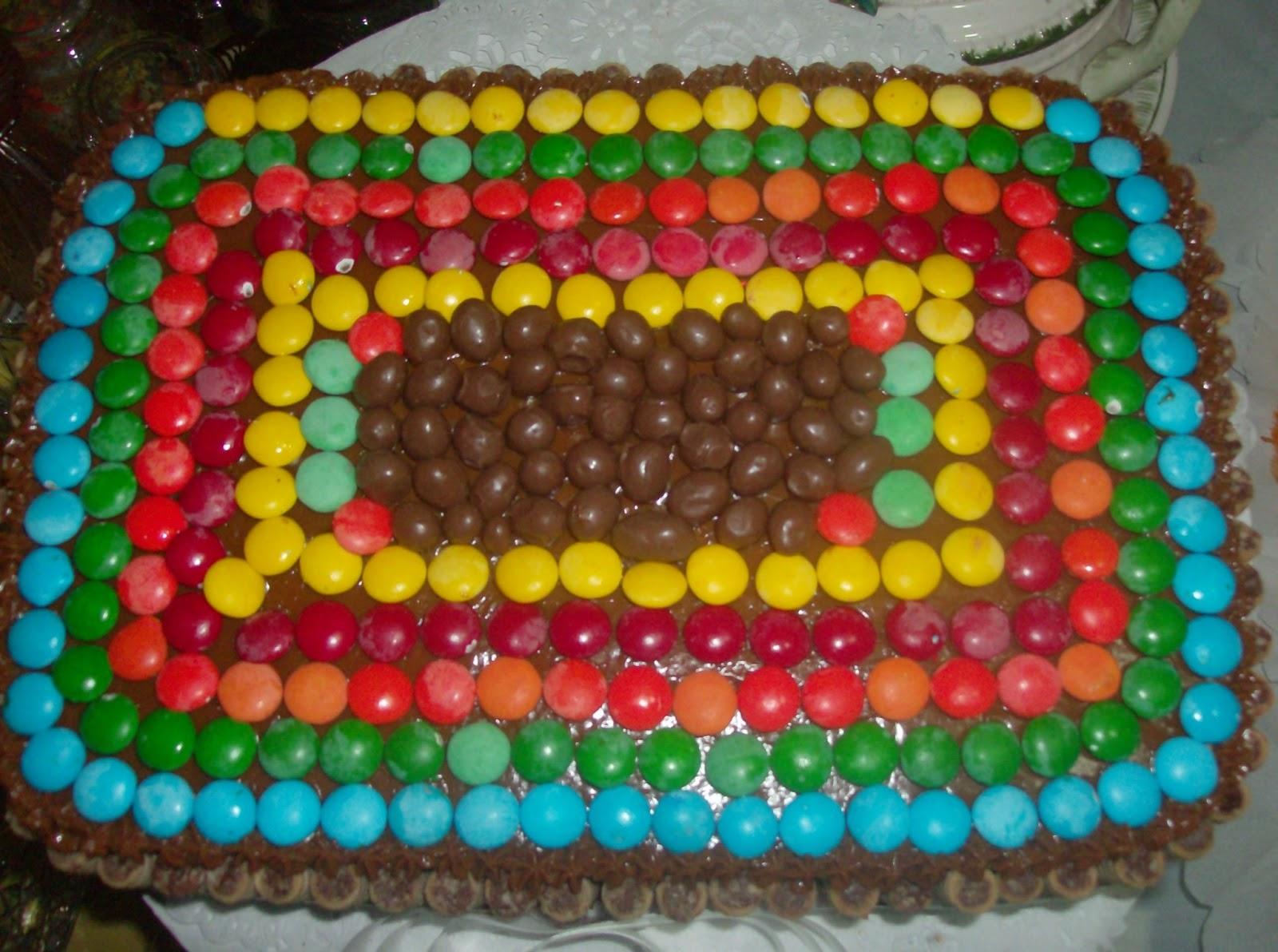 Torta Con Pirulin  Dandy Y Pin Pon