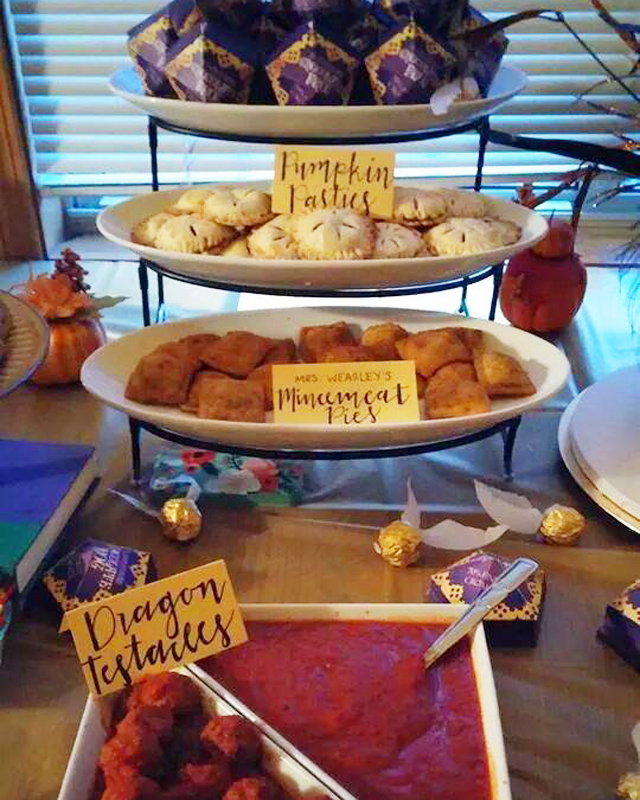 Harry Potter Party Food Table