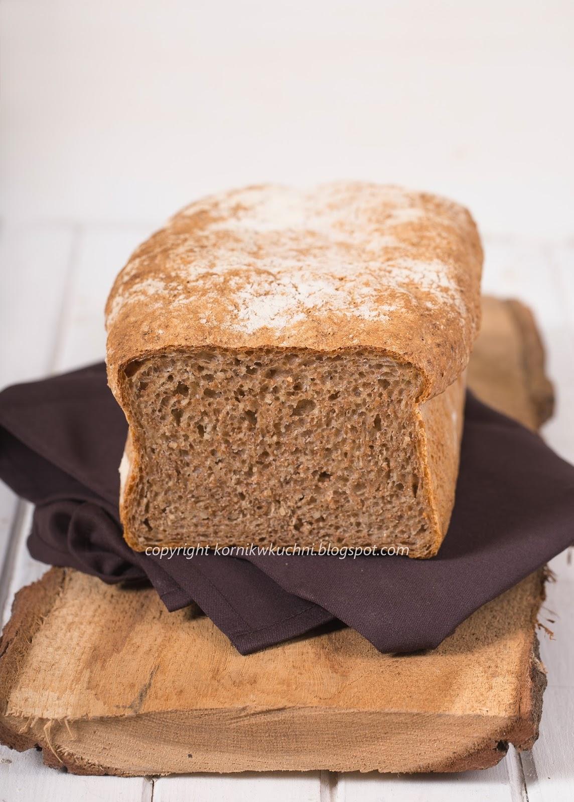 chleb razwy, razowy chleb, chleb z kaszą