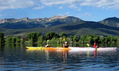 Utah Kayaking Soothes the Soul