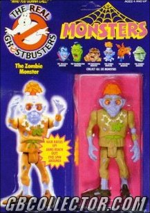 Kenner REAL Ghostbusters Monsters Zombie Figure