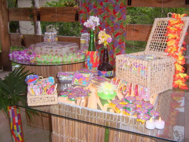 decoracao festa luau:FESTA LUAU DA LUCIANA