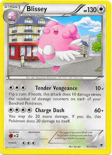 Blissey Phantom Forces Pokemon Card