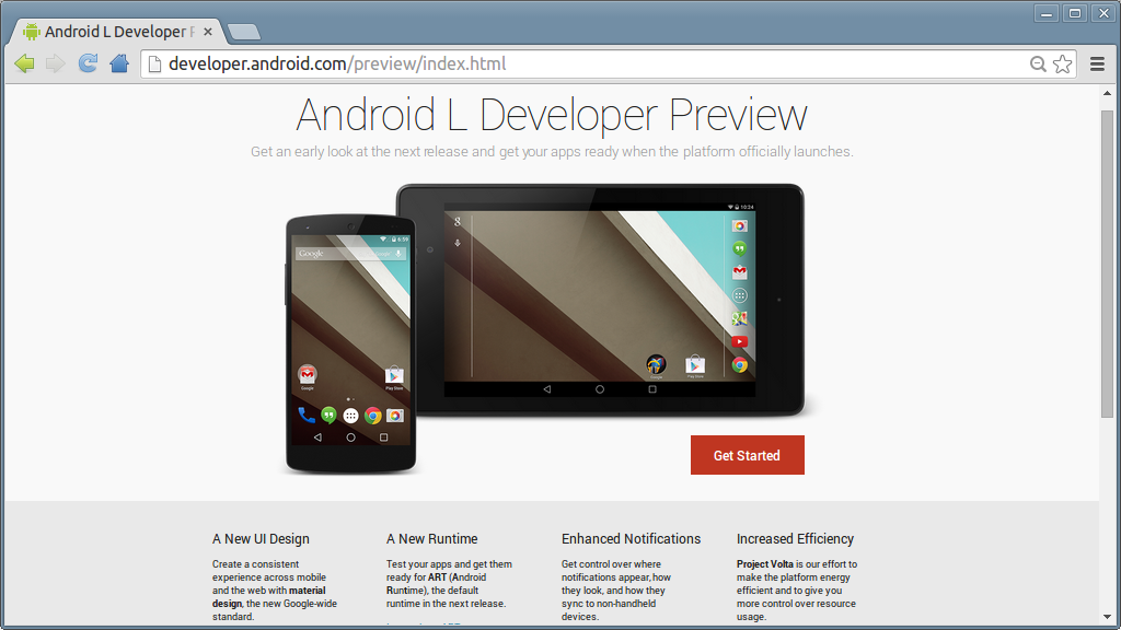 The 50 Developer Preview Is Available For Download Now