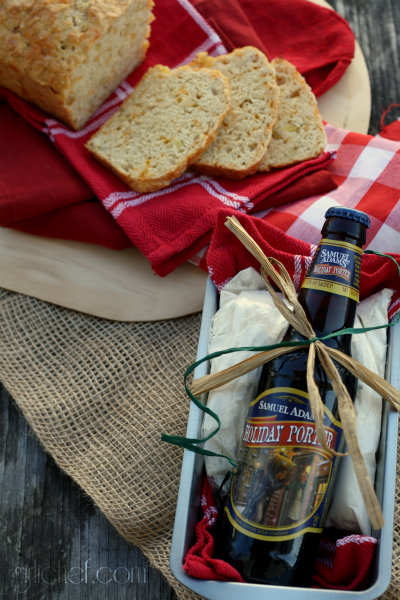 All-in-One Beer Bread Kit + Apple Cheddar Beer Bread